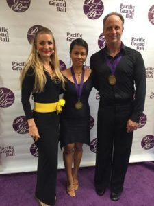 Sizzling Latin Senior Champions