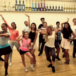 Sizzling Latin youth group class