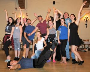 Sizzling Latin group class