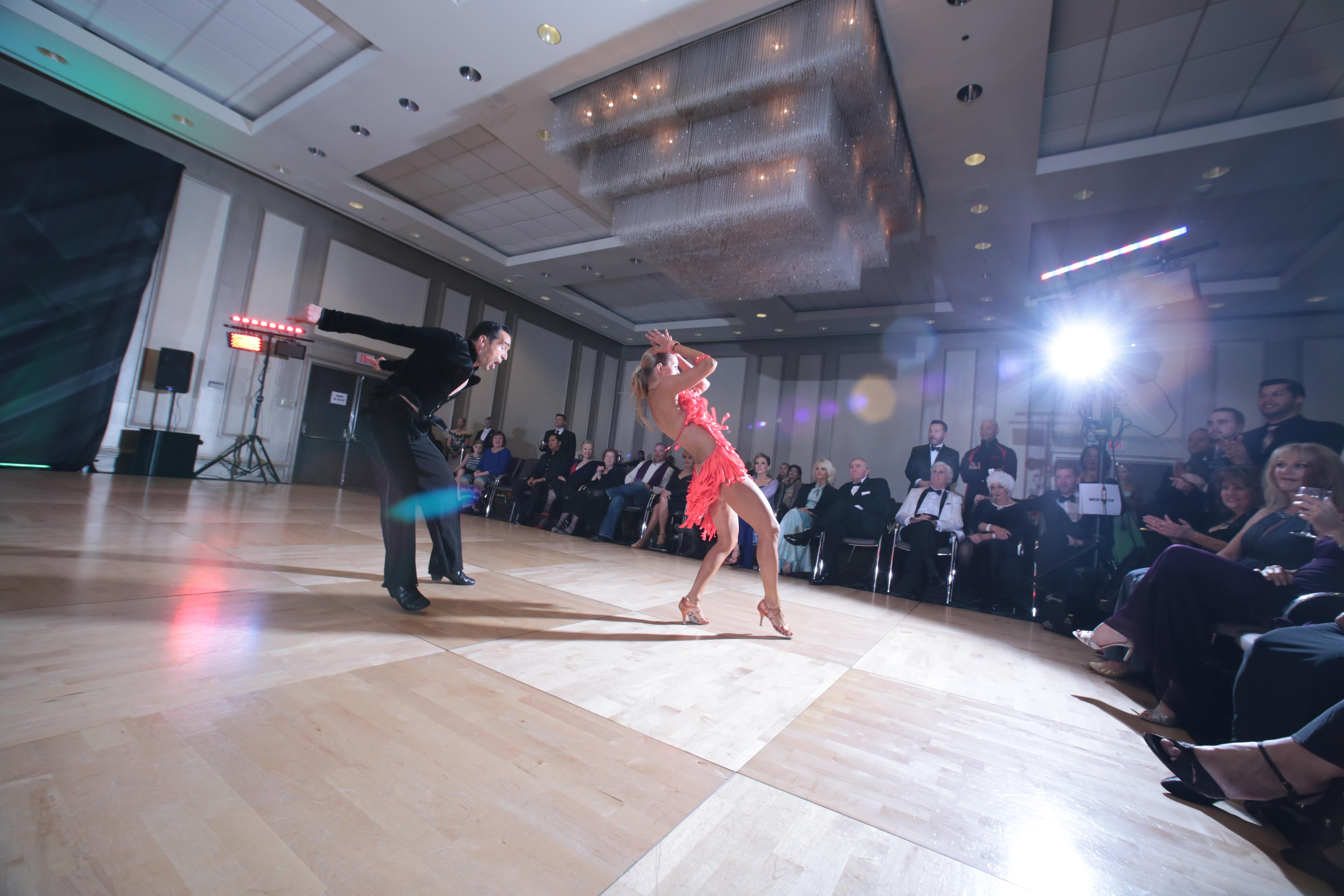Professional International Latin Ballroom Dancers Timea Potys & Zsolt Katona